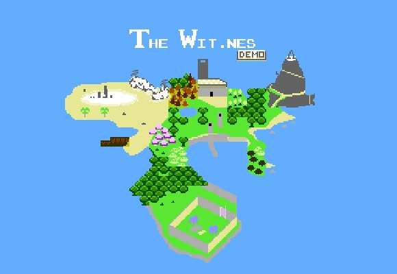 The Wit.nes es el demake para NES del último juego de Jonathan Blow
