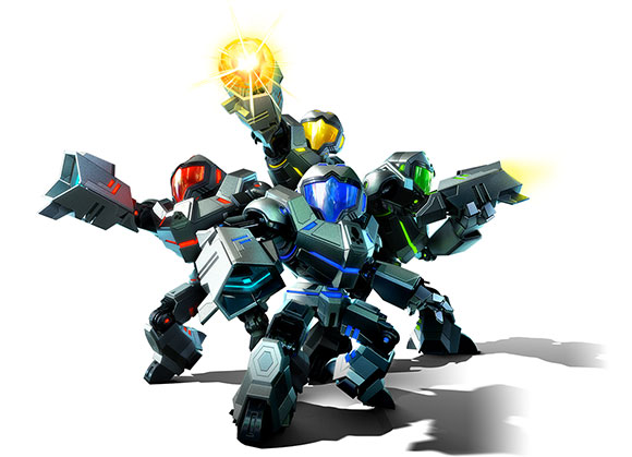 Avance de Metroid Prime: Federation Force