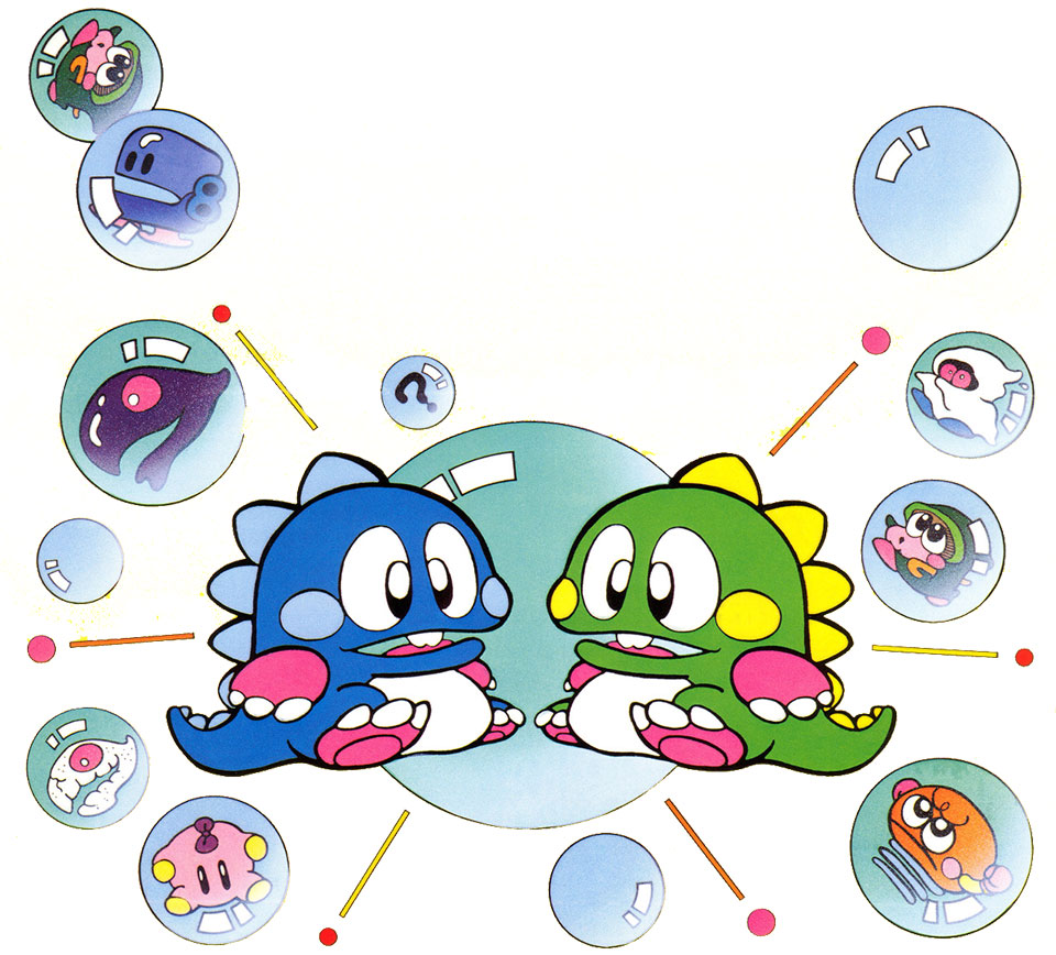 Mes Mini #2: Bubble Bobble