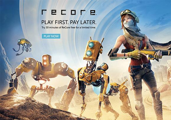 ReCore se puede probar gratis durante 30 minutos