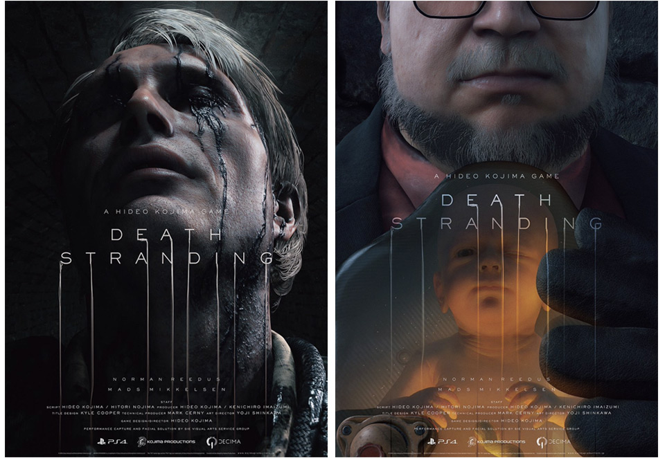 Guillermo del Toro y Mads Mikkelsen en el nuevo tráiler de Death Stranding