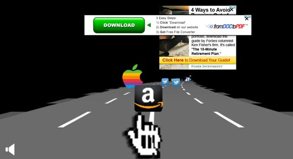 Los anuncios son el castigo de The Internet Express