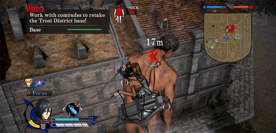 Análisis de Attack on Titan: Wings of Freedom
