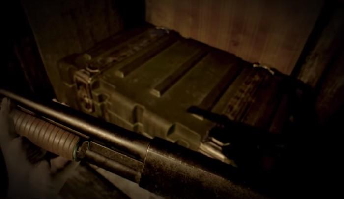 box shotgun Resident Evil 7