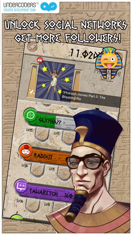 Trending pharaoh undercoders