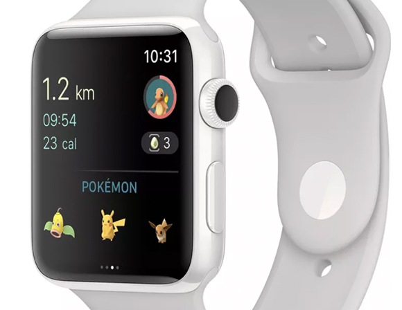 Pokémon Go ya se puede jugar en Apple Watch