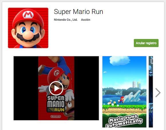 Super Mario Run asoma la patita en Android