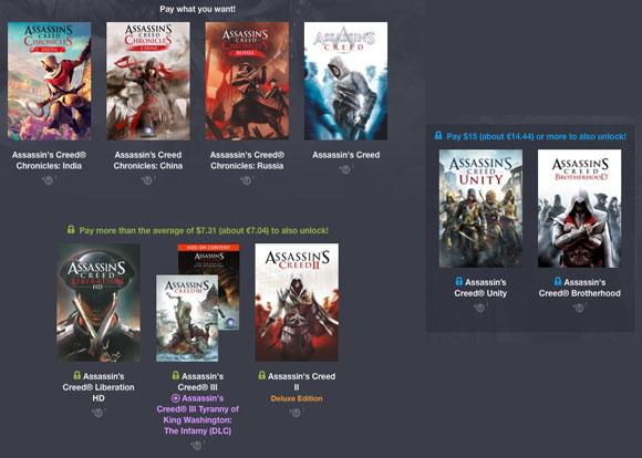 Humble Bundle Assassins Creed