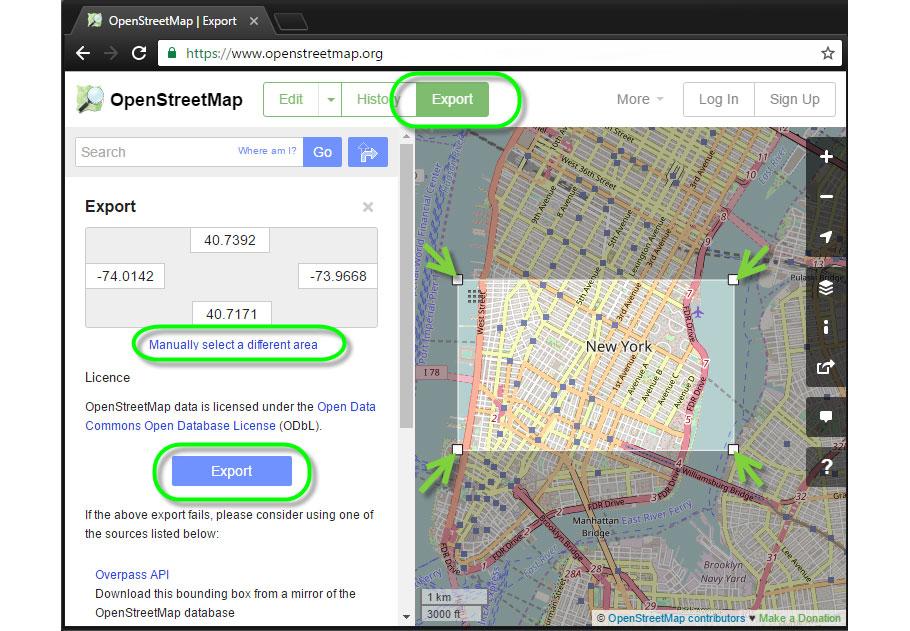 Del plano a la ciudad con este plugin que lleva OpenStreetMap a Unreal Engine 4