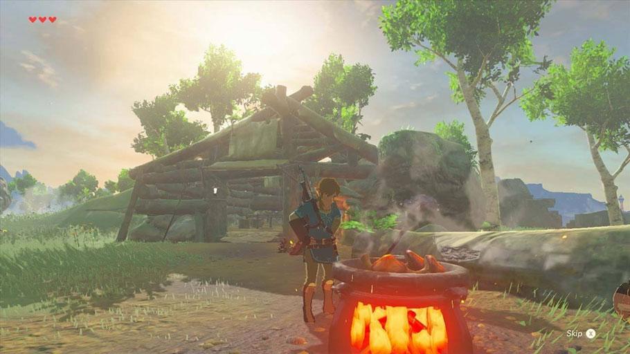 Avance de The Legend of Zelda: Breath of the Wild