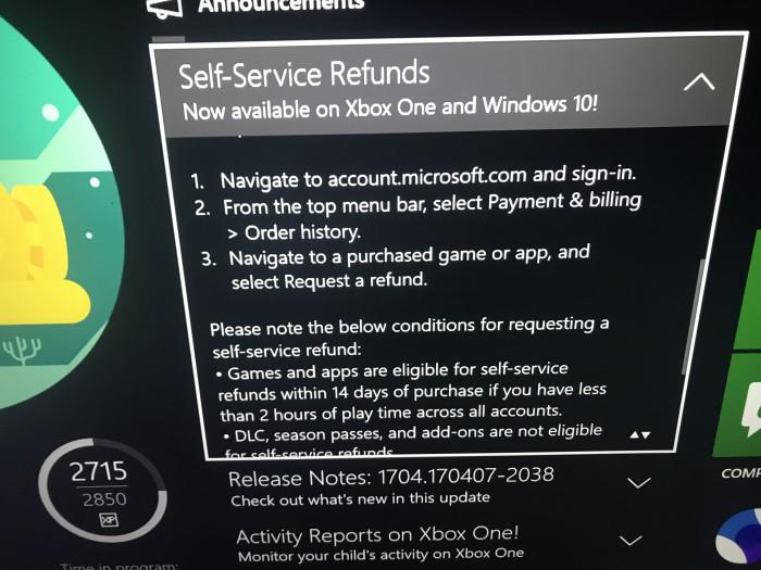 Reembolso Microsoft
