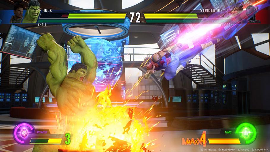 Avance de Marvel vs. Capcom: Infinite